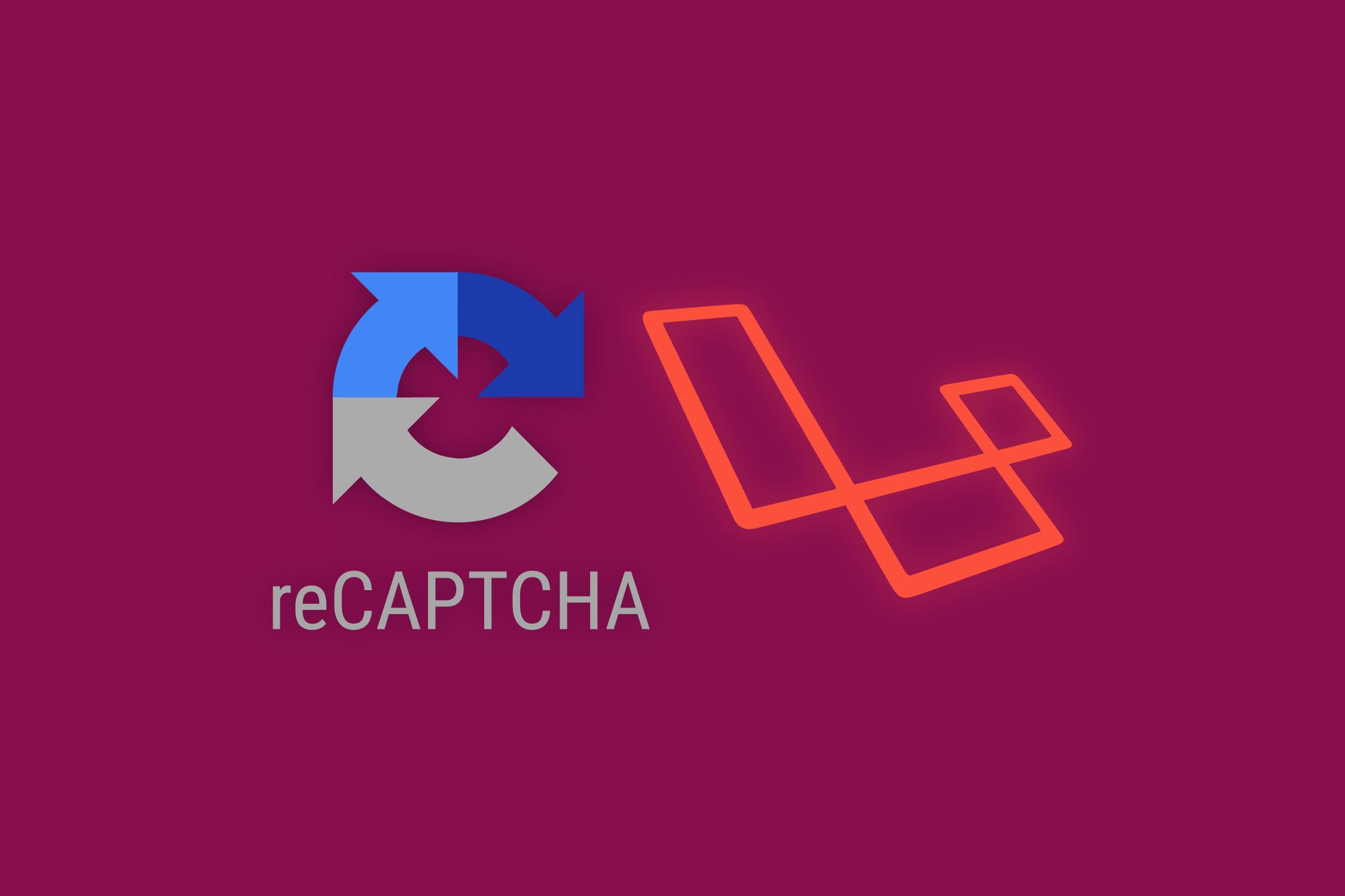 Google Recaptcha in Laravel Application | TutsForWeb
