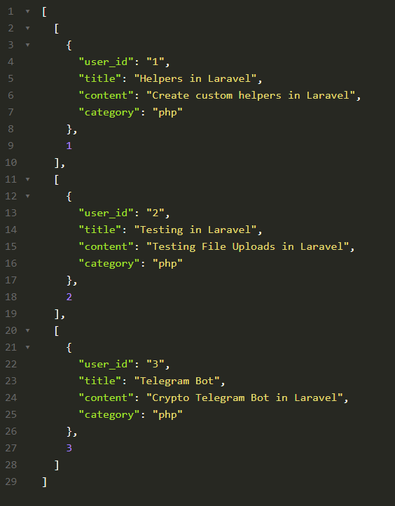 laravel collection methods zip