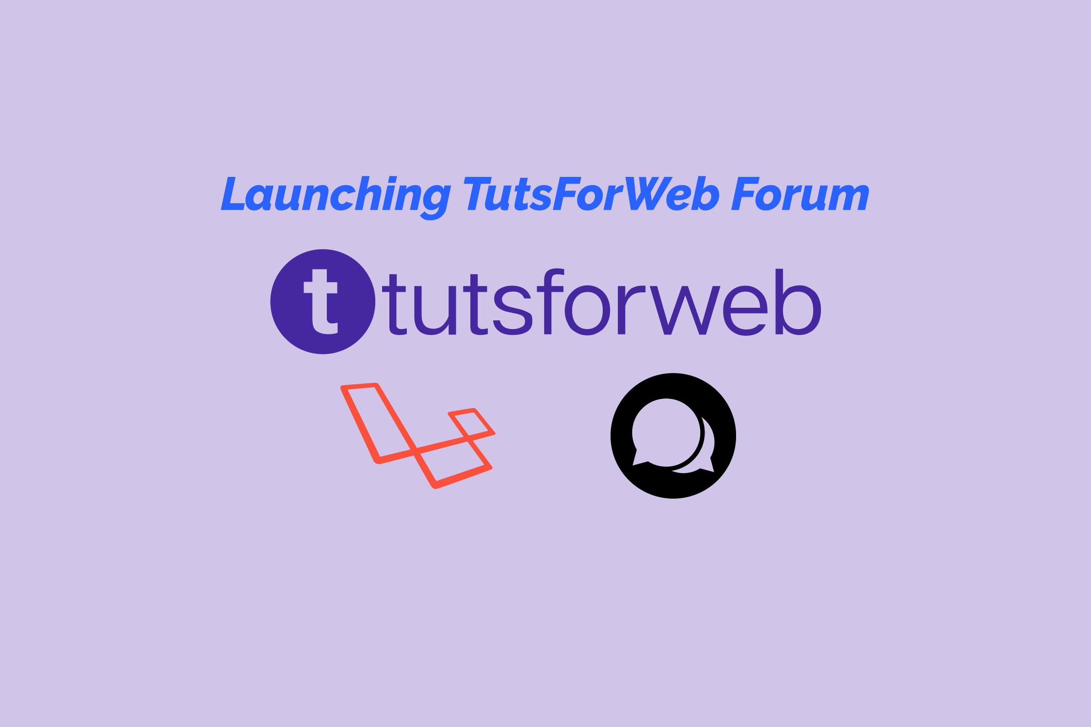 tutsforweb laravel forum