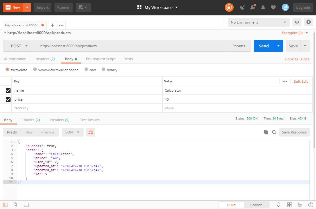 Laravel Passport – Create REST API with authentication | TutsForWeb