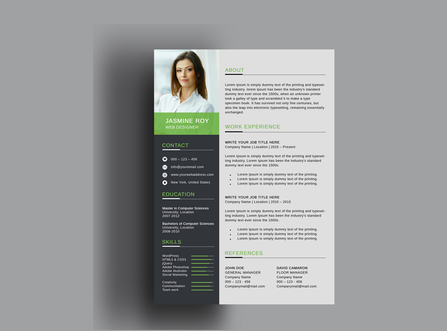 ultimate collection of free professional resume templates