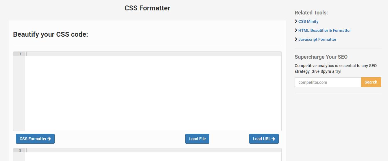 CSS limpio