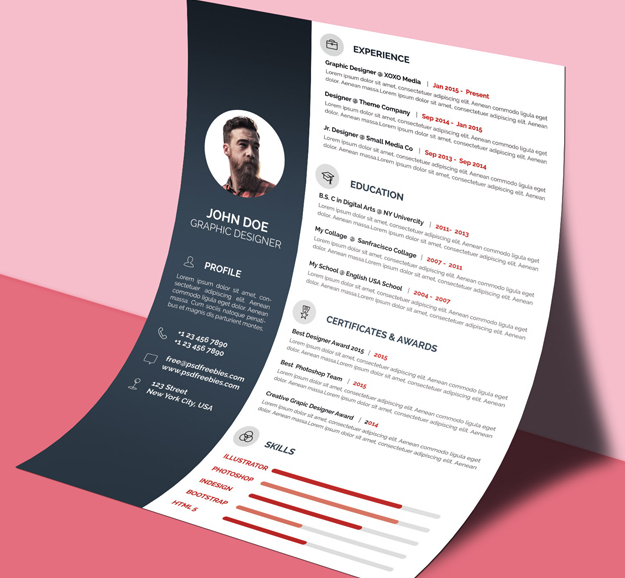 Ultimate Collection Of Free Professional Resume Templates Tutsforweb