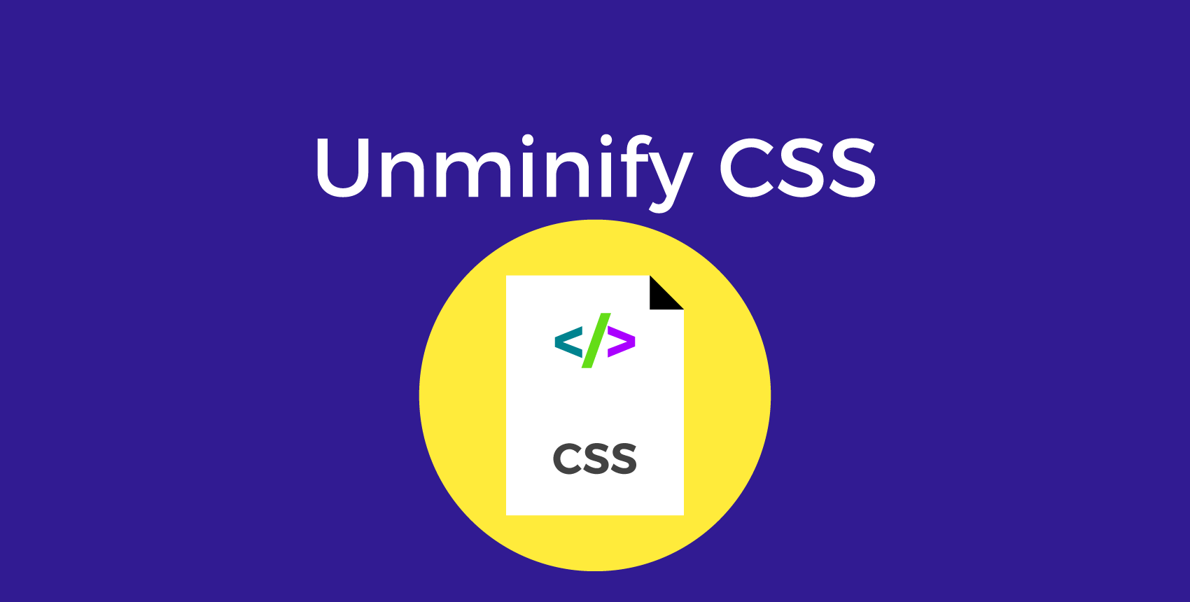 best tools to beautify or minify CSS code